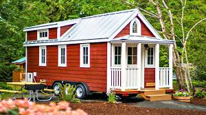 country style tiny house with porch floor level bedroom u0026 sleeping