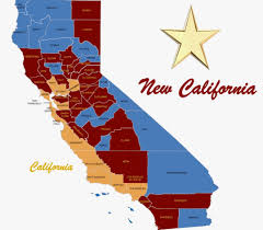 Oroville Ca Map New California Maps How Will New California State Look