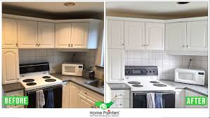 what paint to use on melamine kitchen cabinets painting melamine cabinets home painters toronto