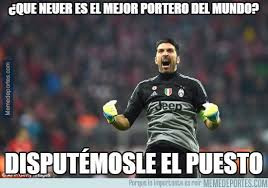 Worlds Best Meme - you think neuer is the world s best keeper let me marca english