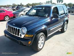 jeep dark blue 2005 jeep liberty limited in midnight blue pearl 536332 jax