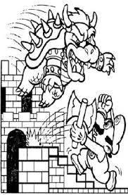 super mario bros kids coloring pages free colouring pictures