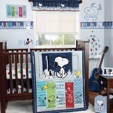 Blue Crib Bedding Set Bedtime Originals Bedding Sets Bedtime Originals Hip Hop Snoopy 3