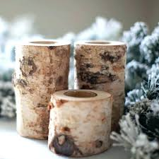 birch log candle holder – conceptcreativefo
