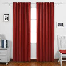 Royal Blue Blackout Curtains Buy Royal Blue Solid Back Tab Thermal Insulated Blackout Curtain