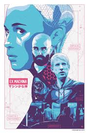 ex machina poster i illustrated an alternate poster for one of my favorite