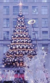 file rockefeller center christmas tree new york 1970 flickr