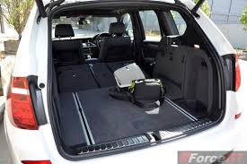 nissan micra luggage capacity 2014 bmw x3 xdrive30d lci luggage space seats folded forcegt com
