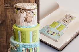 monkey baby shower cake fuzzy monkey baby shower cake de la crème creative studio
