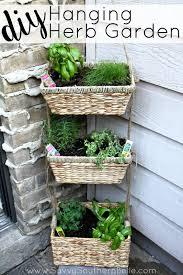 savvy southern belle diy hanging herb garden