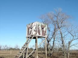 4x4 Elevators Deer Blind Anyone Build Their Own Elevated Box Blind