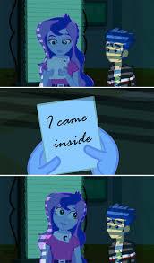 Mlp Luna Meme - 562097 equestria girls flash sentry flash s paper humanized