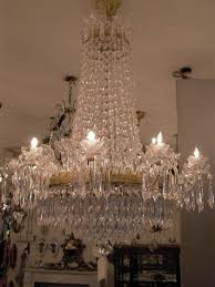 Cristal Chandeliers by House Of Glass Crystal Bronze Chandeliers