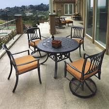 Regency Dining Table And Chairs Regency Dining Patio Dining Set By Gensun Free Shipping
