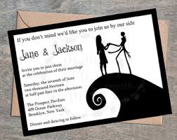 nightmare before christmas wedding invitations frog s breath water bottle label the nightmare before