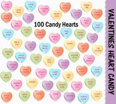 heart candies valentines heart candy clip 100 colorful graphics