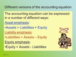 expression nature communications diffe versions of the accounting equation