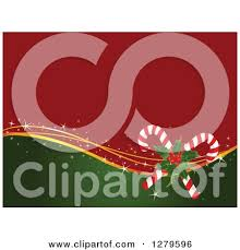 royalty free rf clipart illustration of a green holly christmas