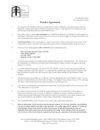 3 Vendor Agreement Templatereport Template Vendor Contract Template Sign Up Sheet Printable