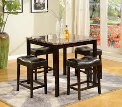 kinsey faux marble 5 piece counter height set dining room furniture sets