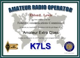 Vanity Call Sign Lookup Radioqth License Certificate