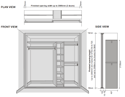 Standard Sliding Closet Door Size Standard Bypass Closet Door Sizes
