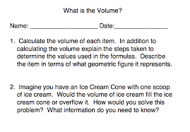 Volume Of Rectangular Prisms Worksheets What Is The Volume Perkins Elearning
