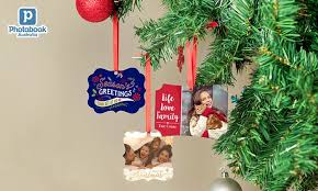 personalised ornaments groupon