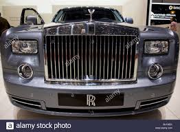 rolls royce phantom grill and flying spirit of ecstasy