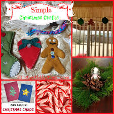 cottage making mommy simple christmas crafts for all ages