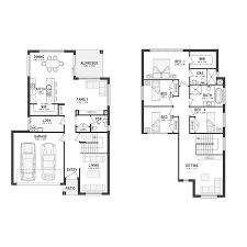 Floor Plans For Narrow Blocks by Catalina