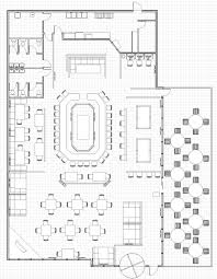 Draw Simple Floor Plans by Small Restaurant Square Floor Plans Every Restaurant Needs
