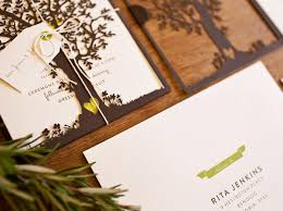 best of 2012 nature inspired laser cut wedding invitations