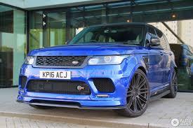 Land Rover Urban Range Rover Sport Svr 27 May 2016 Autogespot