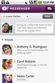 yahoo messenger app for android free yahoo messenger for android software