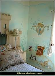 girls mermaid bedroom theme mermaid theme bedroom decorating