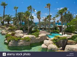 hotel annabelle in paphos republic of cyprus stock photo royalty
