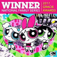 the powerpuff girls wins national family series 2017 gracie award