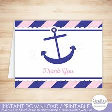 nautical thank you cards friendship nautical thank you note cards with nautical thank you