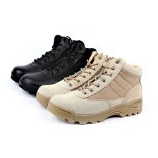 military tactical boots desert combat outdoor army hiking boots
