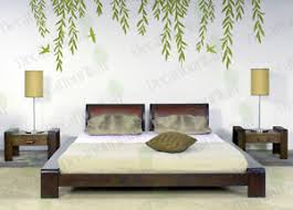 Tree Wall Decals For Living Room Willow Tree Wall Decal Tree Branch Removable Vinyl Stickers Living