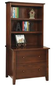 bookcase with file cabinet manhattan lateral file with optional bookshelf from dutchcrafters