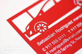 Car Name Card Design Customizing Car Business Cards Diomioprint
