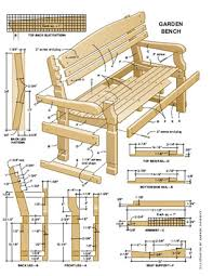 Woodworking Bench Height by Garden Bench With Table 1 Sketchup Plans By Greg Wurst 16 Potting