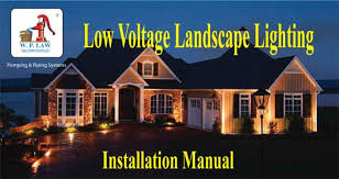 what is low voltage lighting what is the hub method for wiring low voltage landscape lights with