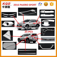 mitsubishi indonesia 2016 2016 montero sport pajero sport chromed rear light cover
