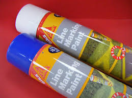 Line Marking Spray Paint - sika line marking spray paint 750ml various colours ebay