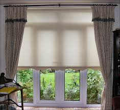 Jcpenney Shades And Curtains Kitchen Jcpenney Roman Shades Penneys Curtains Double Window