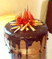 Halloween Bonfire Party Ideas Bonfire Cake Made For My Son U0027s 8th Birthday Sweet Treats