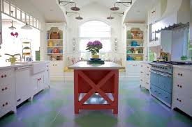 painted kitchen islands different color kitchen island houzz